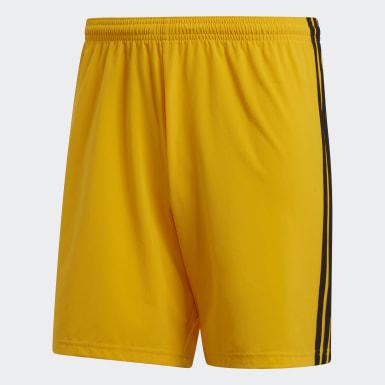 volatilidad Ánimo Peculiar  Pantalones cortos - Amarillo | adidas España