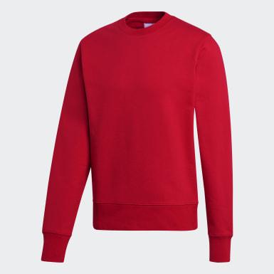 Men's Y-3 Red Y-3 CL Logo Sweatshirt
