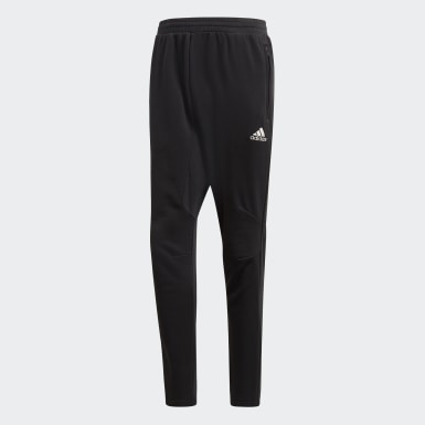 Men Football Black Seasonal Special Real Madrid Drop-Crotch Pants