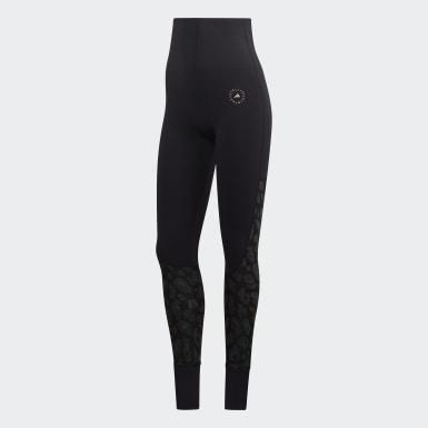 Ženy adidas by Stella McCartney čierna Legíny TRUESTRENGTH Yoga