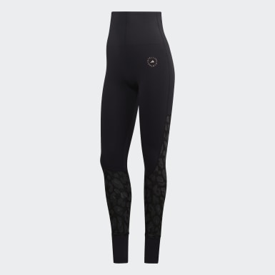 Women adidas by Stella McCartney Black TRUESTRENGTH Yoga Tights