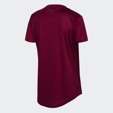 Camiseta Uniforme de Visitante River Plate Burgundy Mujer Fútbol