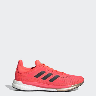 Men's Running Pink SolarGlide 3 Shoes