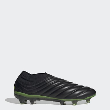 Men Soccer Black Copa 20+ Firm Ground Cleats