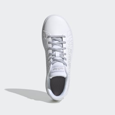Children Essentials White Advantage Shoes