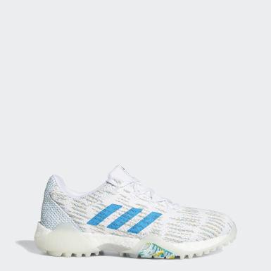 ผู้หญิง กอล์ฟ สีขาว รองเท้ากอล์ฟ CodeChaos Primeblue