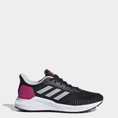 Women's Running Black Solar Ride Shoes