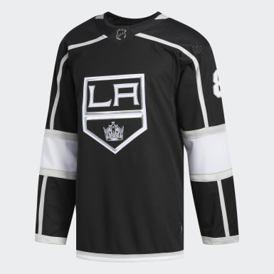Men's Training Black Kings Doughty Home Authentic Pro Jersey