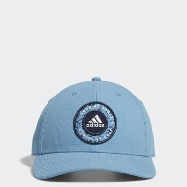 Casquette Circle Patch Snapback Bleu Hommes Golf