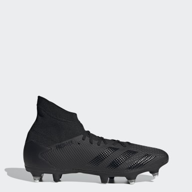 Bota de fútbol Predator 20.3 césped natural húmedo Negro Fútbol