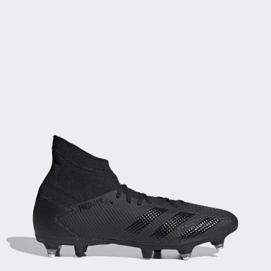 Botas de Futebol Predator 20.3 – Piso mole Preto Futebol