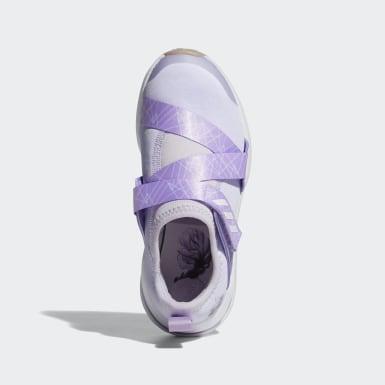 Tenis Frozen FortaRun X (UNISEX) Violeta Niño Running