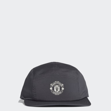 Manchester United Five-Panel Cap Szary