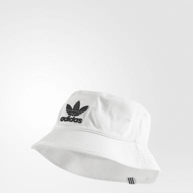 Chapéu Bucket Adicolor Branco Originals