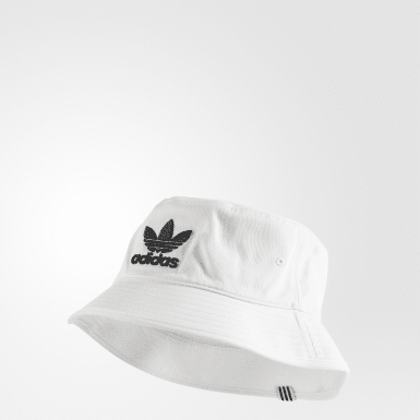 Gorro adicolor Bucket Blanco Originals