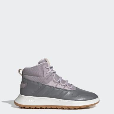 фиолетовый Зимние ботинки Fusion