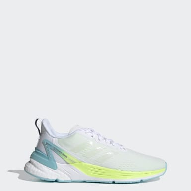 Women's Running White Response Super Shoes