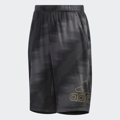 Boys Training Black Train Shorts