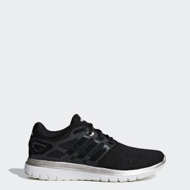 Women Running Black Energy Cloud V Shoes