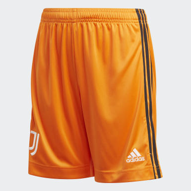 Youth 8-16 Years Football Orange Juventus 20/21 Third Shorts