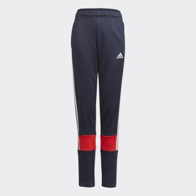 Boys Træning Blå 3-Stripes AEROREADY Primeblue bukser
