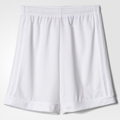 Shorts Squadra 17 Branco Meninos Futebol