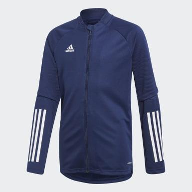 Børn Træning Blå Condivo 20 træningsjakke