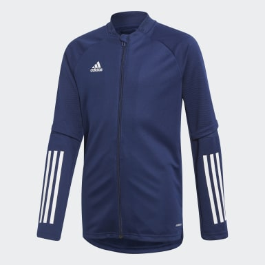 Kinder Training Condivo 20 Trainingsjacke Blau
