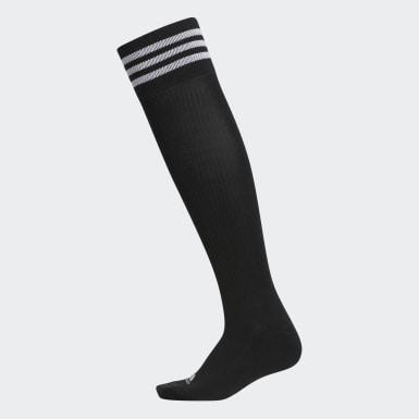 Women Golf Black STY Knee-High Socks