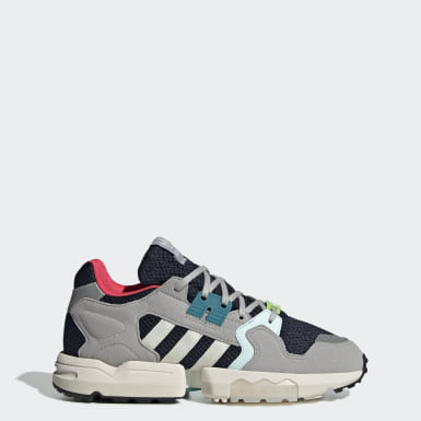 Women Originals Blue ZX Torsion Shoes