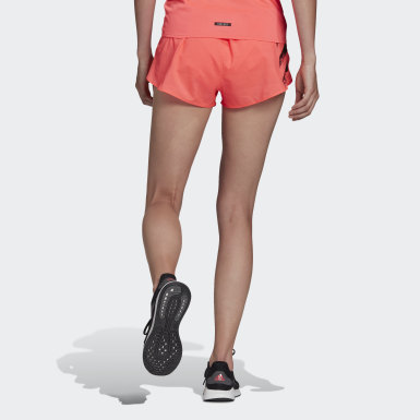 Frauen Running adidas Speed Split Shorts Rosa