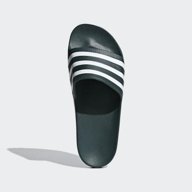 Originals Grey Adilette Aqua Slides