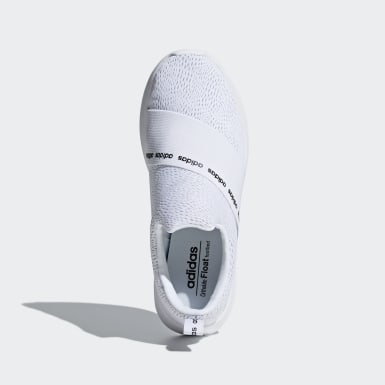 Women Sport Inspired White Cloudfoam Refine Adapt Shoes