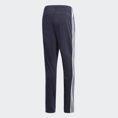 ผู้ชาย เทรนนิง สีน้ำเงิน กางเกงขาสอบ Essentials 3-Stripes