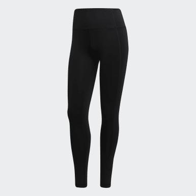 Women Training Black 7/8 Leggings