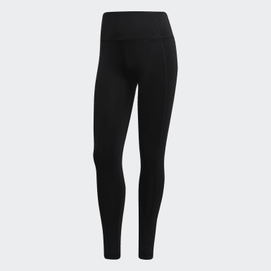 Women Training Black 7/8 Tights