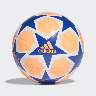 Men Football Orange UCL Finale 20 Club Ball
