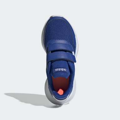 Kids 4-8 Years Running Blue Tensor Shoes