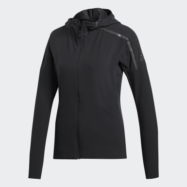 Women Running Black adidas Z.N.E. Jacket