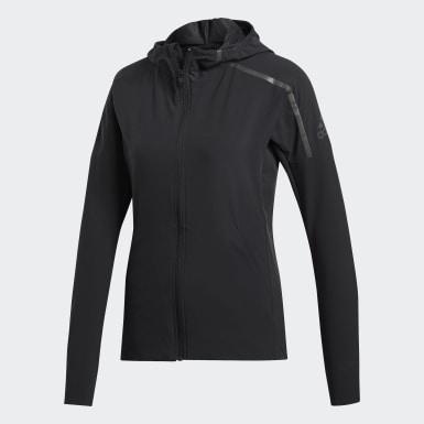 Kadın Koşu Siyah adidas Z.N.E. Rüzgarlık