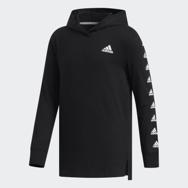 Hooded Badge of Sport Sleeve Tee