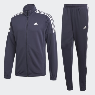Herr Athletics Blå Team Sports Track Suit