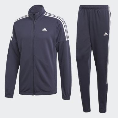 Mænd Athletics Blå Team Sports træningsdragt