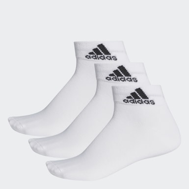 Calcetines tobilleros finos Performance Blanco Training