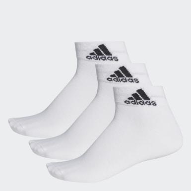 Training Beyaz Performance İnce Bilek Boy 3 Çift Çorap