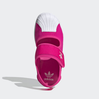 Kids Originals Pink Superstar 360 Sandals