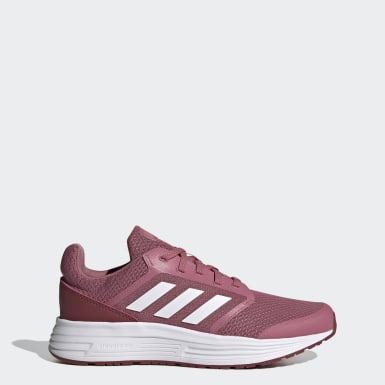 Women Running Burgundy Galaxy 5 Shoes