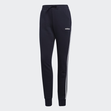 Women Athletics Blue Essentials 3-Stripes Pants