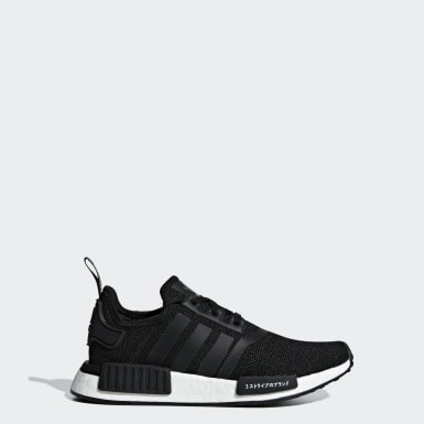 Boys Originals Black NMD_R1 Shoes
