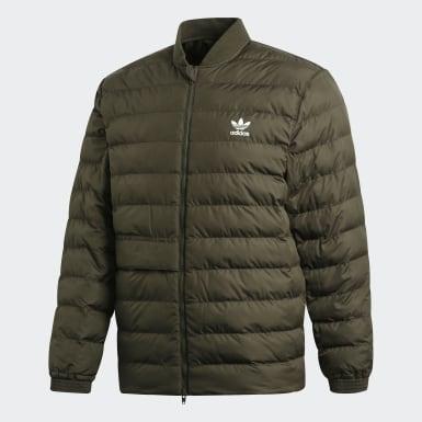 Männer Originals SST Outdoor Jacke Grün